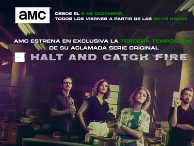 La tercera temporada de 'Halt and Catch Fire': de los perfiles a las personas