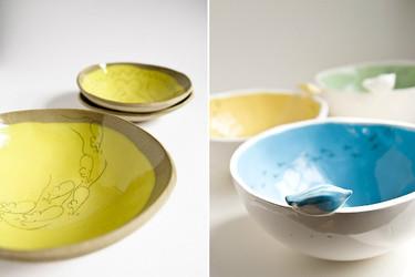 Mágicas piezas de cerámica hechas a mano por karoArt