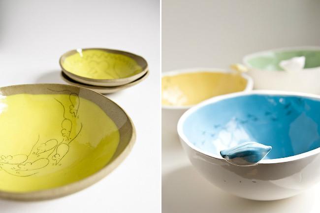 M gicas piezas de cer mica hechas a mano por karoart for Ceramicas para piezas