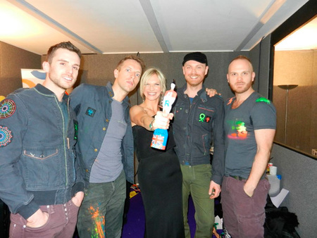 Coldplay en los Brit Awards