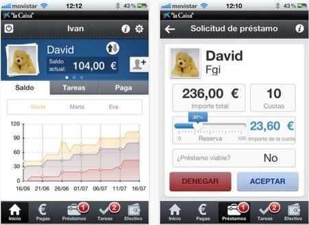 La Caixa desarrolla una aplicación para el iPhone/iPad para enseñar a ahorrar a los niños