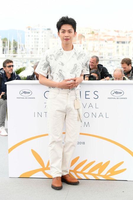 Hong Chi Lee Long Day S Journey Into Night Di Qui Zui Hou De Ye Wan Photocall The 71st Annual Cannes Film Festival