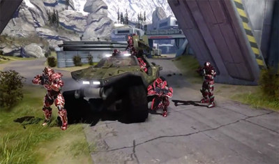 Halo Online luce poderío multijugador en su primer tráiler