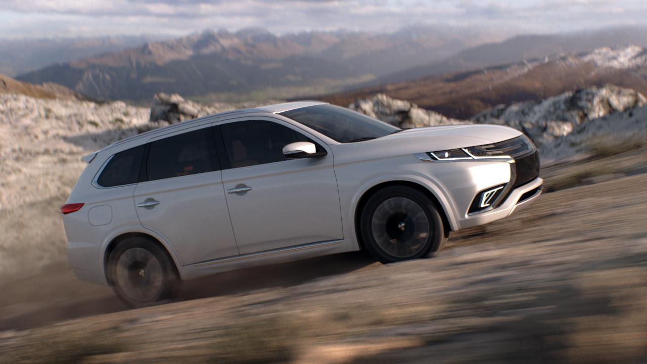 Foto de Mitsubishi Outlander PHEV Concept-S (27/49)