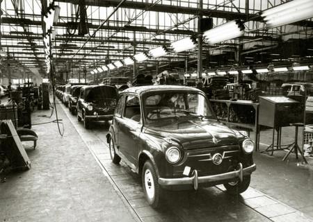 SEAT 600 fabricación
