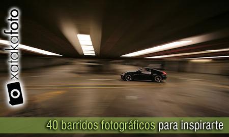 40 fotos de barridos fotográficos. Trucos e ideas para inspirarte