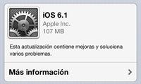 [ACTUALIZADO] Apple ha liberado iOS 6.1, pero aún sin compatibilidad con el LTE de México