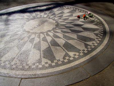 Nueva York: Strawberry Fields Memorial