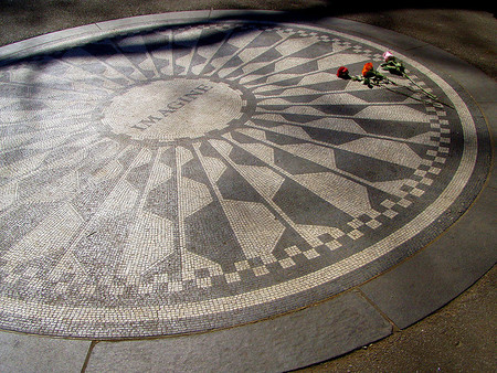 Nueva York: Strawberry Fields Memorial