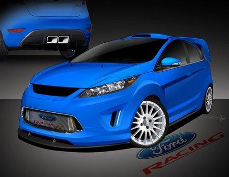 El Ford Fiesta también estará en el SEMA Show