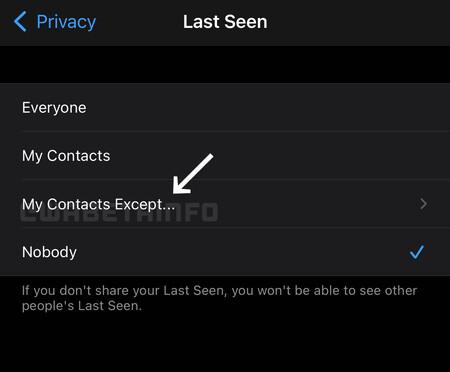Whatsapp Ocultar Hora Ultima Conexion Contactos Especificos