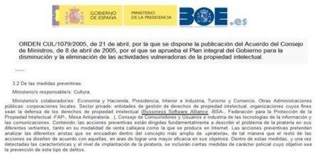 La BSA, lobby internacional del software privativo, colaborador oficial del Gobierno de Zapatero