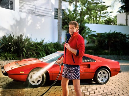 David Hasselhoff Beachwear Swimwear Spring Summer 2019 Hapy Socks Campaign 1