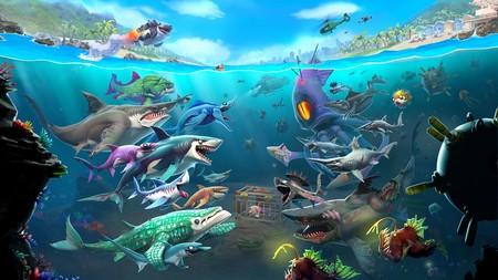 Análisis de Hungry Shark World: megalodón en móviles, chanquete en consolas