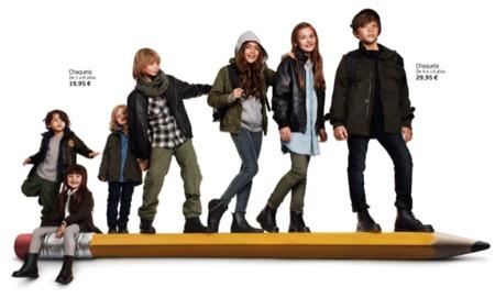 HM viste a los niños en su vuelta al cole con su colección Otoño-Invierno 2010/2011 V