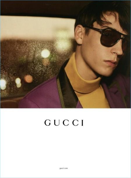 Gucci 2017 Spring Summer Mens Eyewear Campaign 002