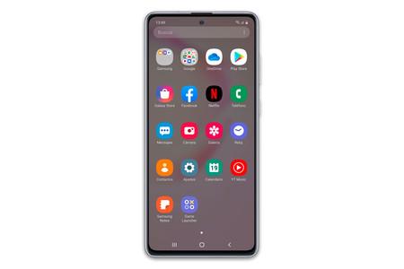 Apps de fábrica (habiendo deseleccionado todo) en el Samsung Galaxy Note 10 Lite
