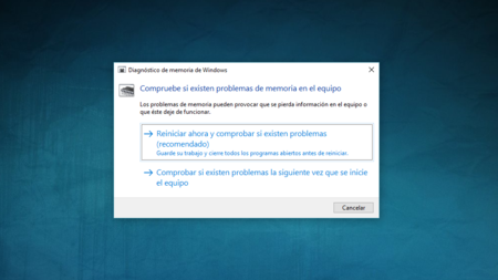 Diagnostico De Memoria De Windows