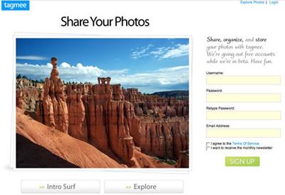 Tagmee, otra alternativa para el alojamiento de fotografías