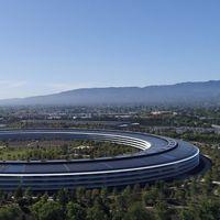 El Apple Park luce increíble en su último video a vista de drone, pero cada vez será más difícil grabarlo