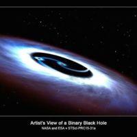 Descubierto un doble agujero negro en el cuásar más próximo a la Tierra