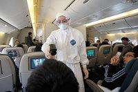 Controles chinos contra la gripe A