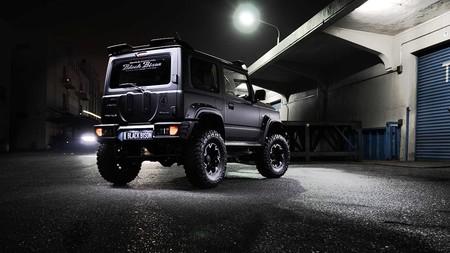 Suzuki Jimny Black Bison By Wald 2
