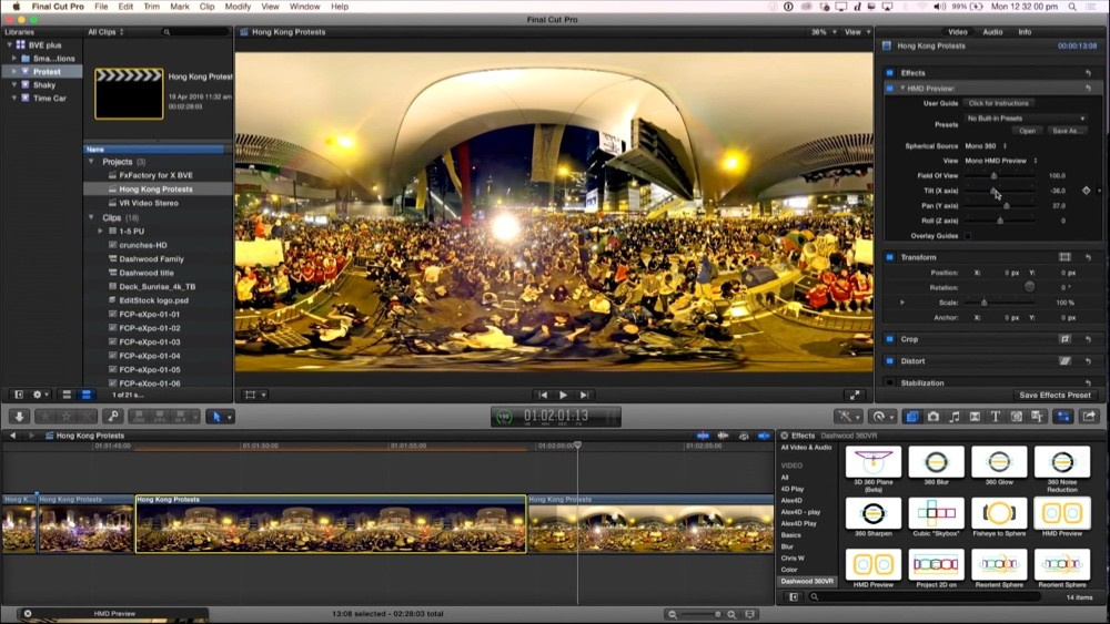 Fcpx Video 360