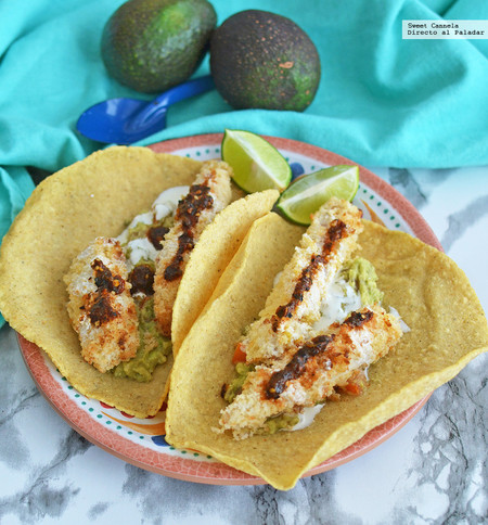 Tacos De Pescado Empanizado Receta Mexico