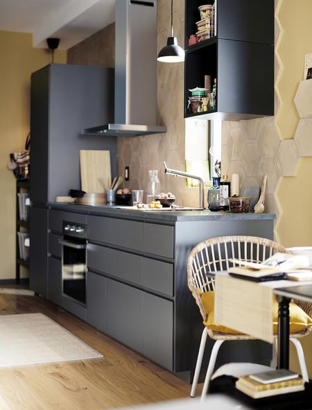 Cocina negra Ikea tendencias 2020