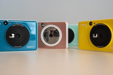 Canon Zoemini S y Canon Zoemini C, las nuevas cámaras para selfies que imprimen directamente tus fotografías