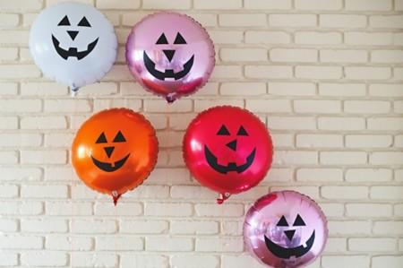 ¿Incapaz de vaciar las calabazas de Halloween? Pues prepáralas en versión globo