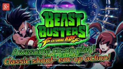 SNK Playmore lanza Beast Busters featuring KOF, su nuevo juego de disparos para Android