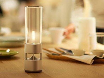 Esta lámpara LED de Sony es además un altavoz Bluetooth con sonido en 360 grados