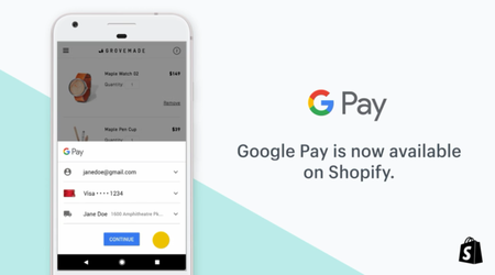 Google Pay Shopify