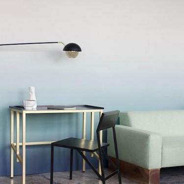 El hermoso papel de pared degradado hecho a mano de Calico Wallpaper