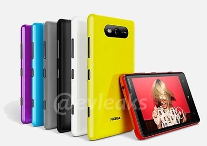 Nokia Lumia 820 posibles imágenes