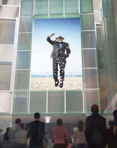 Instalaciones multimedia inmersivas en el aeropuerto LAX de Los Angeles