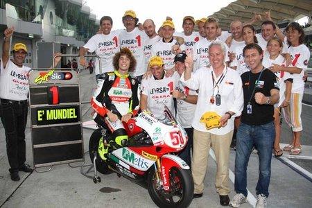 Listado de equipos de Moto2 para la temporada 2011