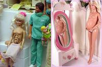 La Barbie embarazada que se censuró por no tener anillo de bodas