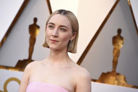 Oscars 2018: Saoirse Ronan se convierte en la geisha más dulce de la alfombra roja