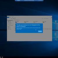 Windows 10 Cloud sí soportaría la instalación de programas Win32, pero desde la tienda oficial