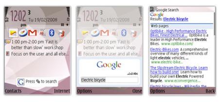 Búsquedas Google más rápidas en S60