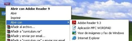 "Elimina elementos de ""Abrir con"" en Windows"