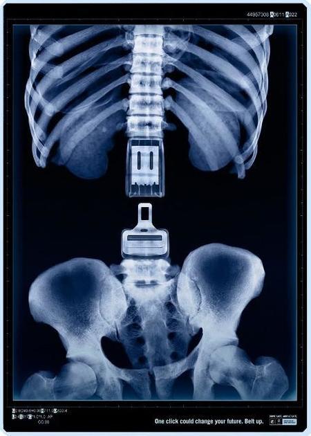La importancia de usa el cinturón de seguridad