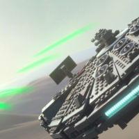 LEGO Star Wars: El Despertar de la Fuerza se muestra en movimiento y sí, pilotaremos el Halcón Milenario
