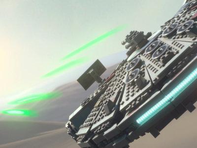 LEGO Star Wars: El Despertar de la Fuerza se muestra en movimiento y si, pilotaremos el Halcón Milenario