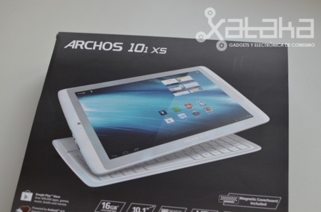 Archos 101 XS análisis caja