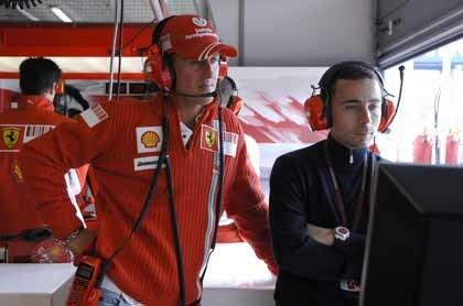 Vía libre para Kimi en Hungría: ¡Schumacher no está!