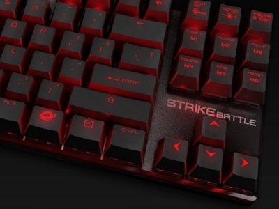 Ozone Strike Battle análisis: un excelente teclado mecánico compacto